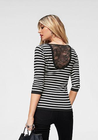 MELROSE Пуловер в полоску