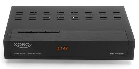 DVB-C/T2-TWIN-Receiver TV PVR-ready &r...