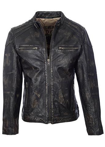 TRAPPER В винтажном стиле куртка кожаная &quot...