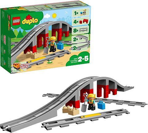 ® Eisenbahnbrücke и Schienen ...