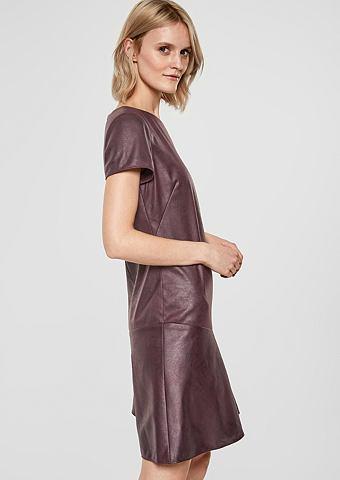S.OLIVER BLACK LABEL Платье в имитация кожи