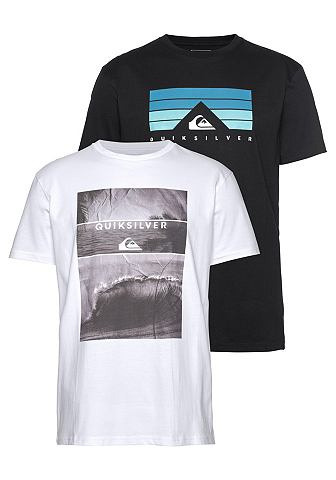 QUIKSILVER Футболка »FLAXTON PACK SKYLINE V...