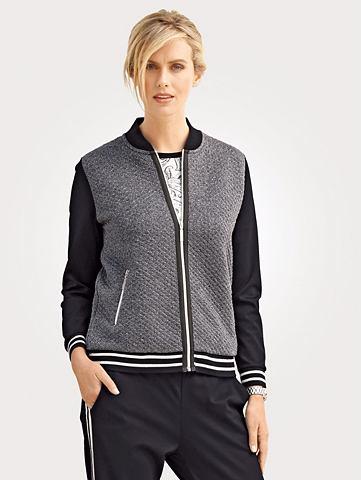 Куртка в Jacquard-Qualität