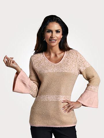 Пуловер с Glanzgarn