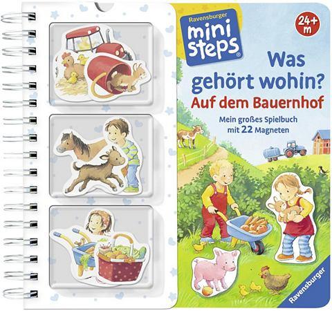 RAVENSBURGER Детская книга с Magneten »minist...