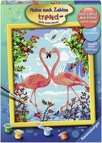 RAVENSBURGER Рисовать nach Zahlen »Flamingo L...