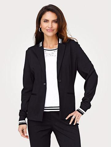 Пиджак трикотажный в sportiver форма