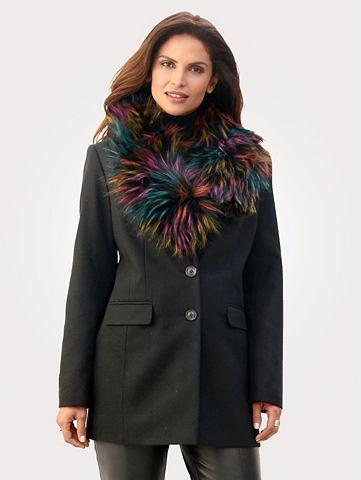 Пальто короткое с wärmender Wollb...