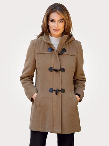 MONA Пальто с капюшон