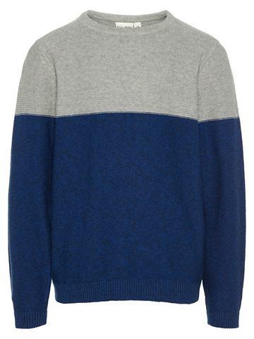 Mehrfarbiger трикотажный пуловер