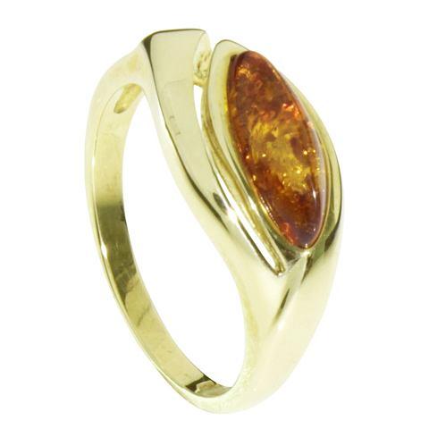 OSTSEE-SCHMUCK Кольцо »Jalin Gold 333/000 Berns...