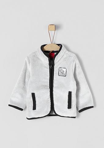 Куртка плюшевая с карман для Babys