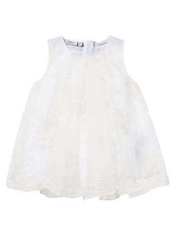 Вышитый Tüll- платье