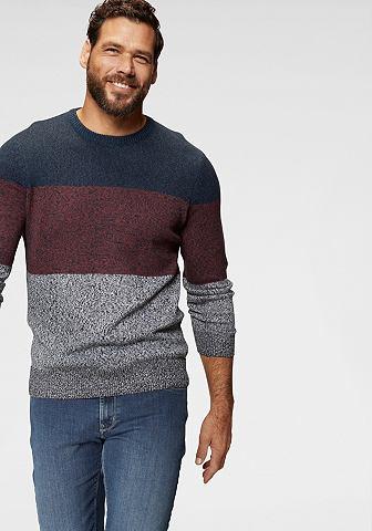 MAN'S WORLD Пуловер с круглым вырезом