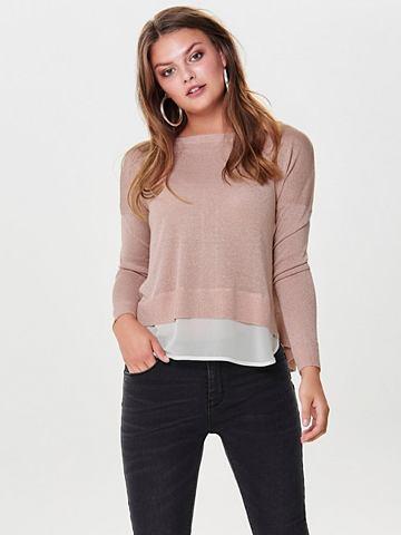 Detailreicher трикотажный пуловер