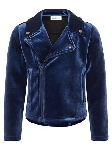 NAME IT Velours Байкер-стиль куртка