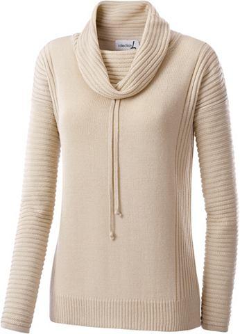 Пуловер с украшением