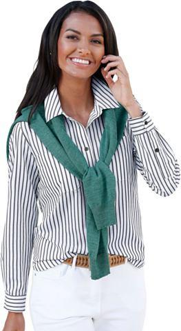 CASUAL LOOKS Блуза с воротник