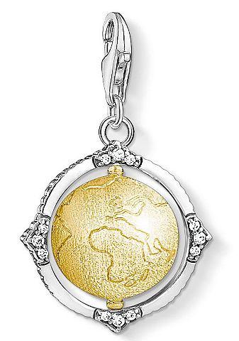 Кулон »Vintage земной шар 1711-8...