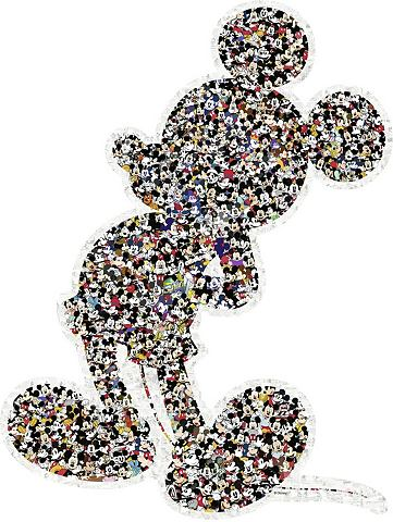 RAVENSBURGER Konturpuzzle 945 Teile »Shaped M...