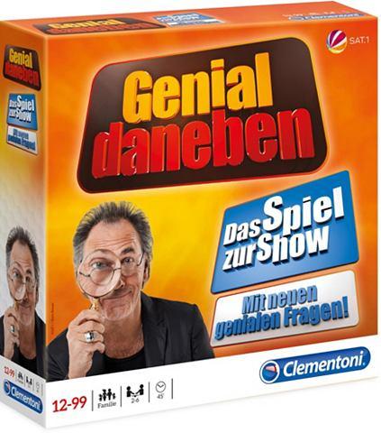 """CLEMENTONI ® Spiel """"Genial Daneben 2018&..."""