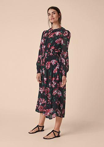 Цветочный узор платье-макси длинное из...