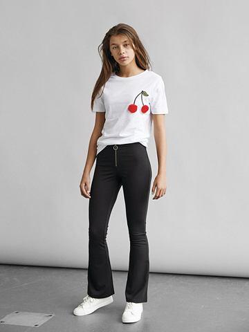 Ausgestellte вискоза брюки