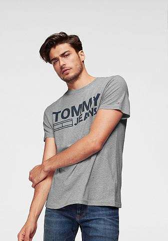 TOMMY джинсы футболка »TJM ESSEN...
