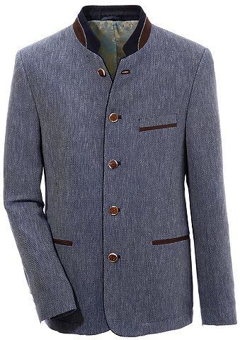 Пиджак в национальном стиле с накладка...