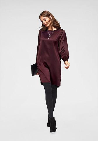 Платье сатиновое »LINEA«