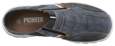 PIONEER_TEXTIL Pioneer Authentic джинсы сабо
