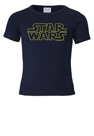 LOGOSHIRT Футболка с Star Wars-Schriftzug &raquo...