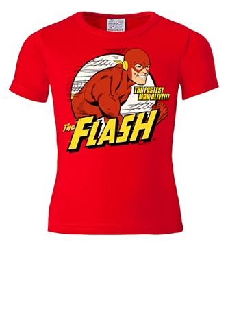 LOGOSHIRT Футболка с coolem The Flash-Print &raq...
