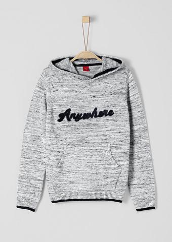 Трикотажный пуловер с капюшон для Jung...