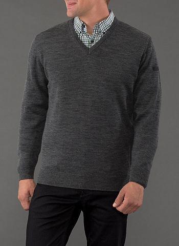 Пуловер с V-образным вырезом »Me...