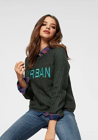 ONLY Пуловер с круглым вырезом »KERRY...