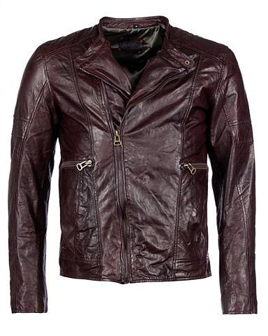 Куртка кожаная »Milton«