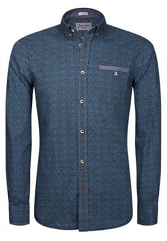 SIGNUM Cooles Rugged рубашка с с мелким принт...