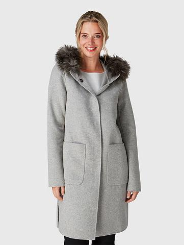 Пальто длинное