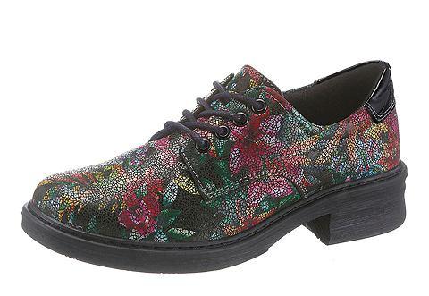 Ботинки со шнуровкой в Blüten-Sti...