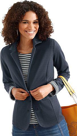 Пиджак трикотажный с Reverskragen
