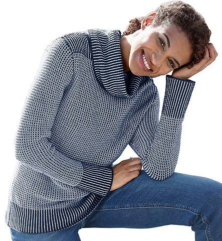 Пуловер в hübschschen Strickmuste...
