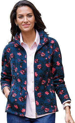 Флисовая куртка в floralen дизайн
