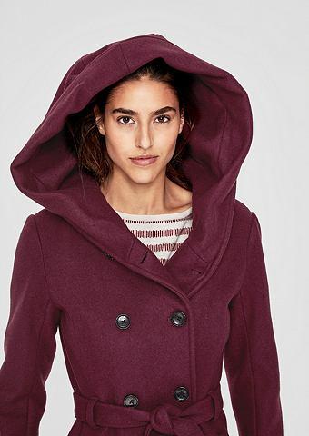 S.OLIVER RED LABEL Шерстяное пальто с großer капюшо...