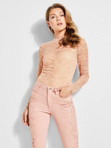 GUESS Кружевная блуза