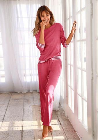 Пижама с gestreiften манжет