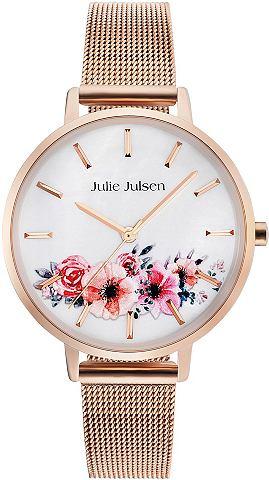 Часы »Flower Rosé сетка 2...