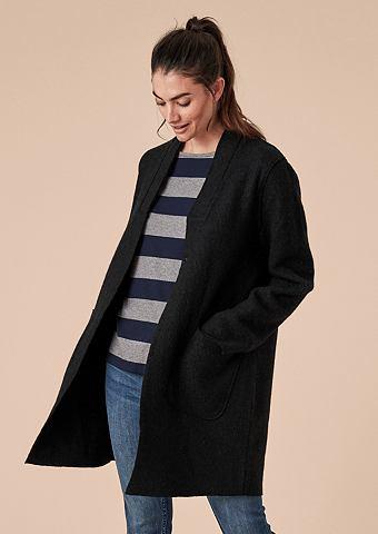 Нежный пальто шерстяное в Filz-Look