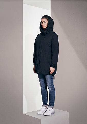 Куртка зимняя с lässiger капюшон
