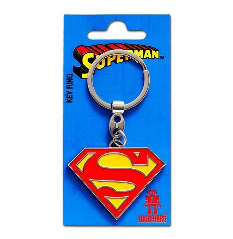 LOGOSHIRT Брелок для ключей с Superman-Logo